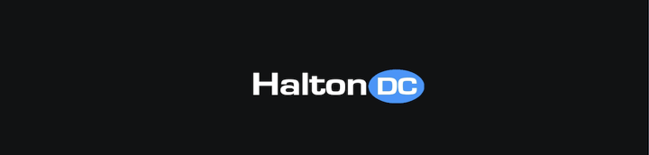 Halton Datacenter Logo on Black