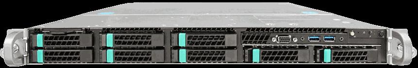 Halton Data Center 1U dedicated server